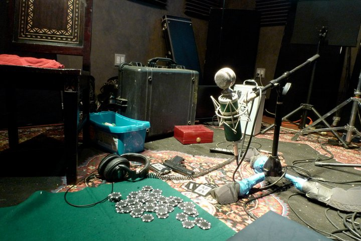 Recording Chips and Cards Foley for Poker NIght